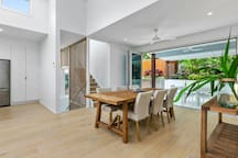 Open and bright with high ceilings