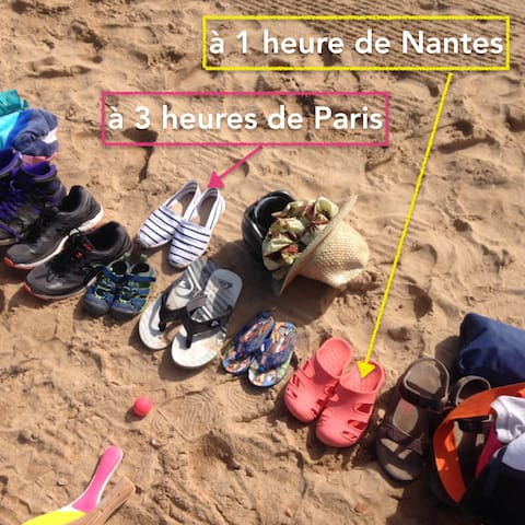 We're 1hr away from NANTES International Airport, and 3hrs away from Paris. What are you waiting for?