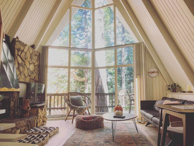 A-Frame In the Forest: Close to beach and village