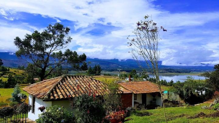 Cabaña Campestre, Vereda Tominé, Guatavita