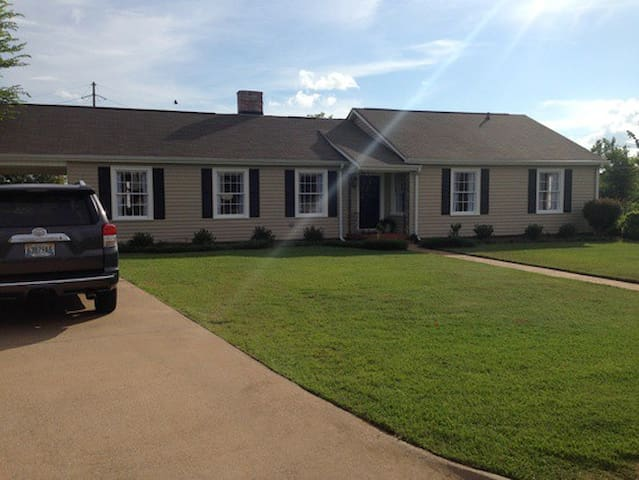 quiet, sunny, private - Tuscaloosa - Talo