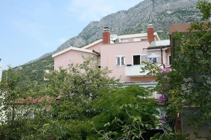 One bedroom apartment with terrace and sea view Baška Voda, Makarska (A-6704-a) - Baška Voda - Pis