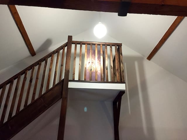 2nd stairs to Bedroom 3