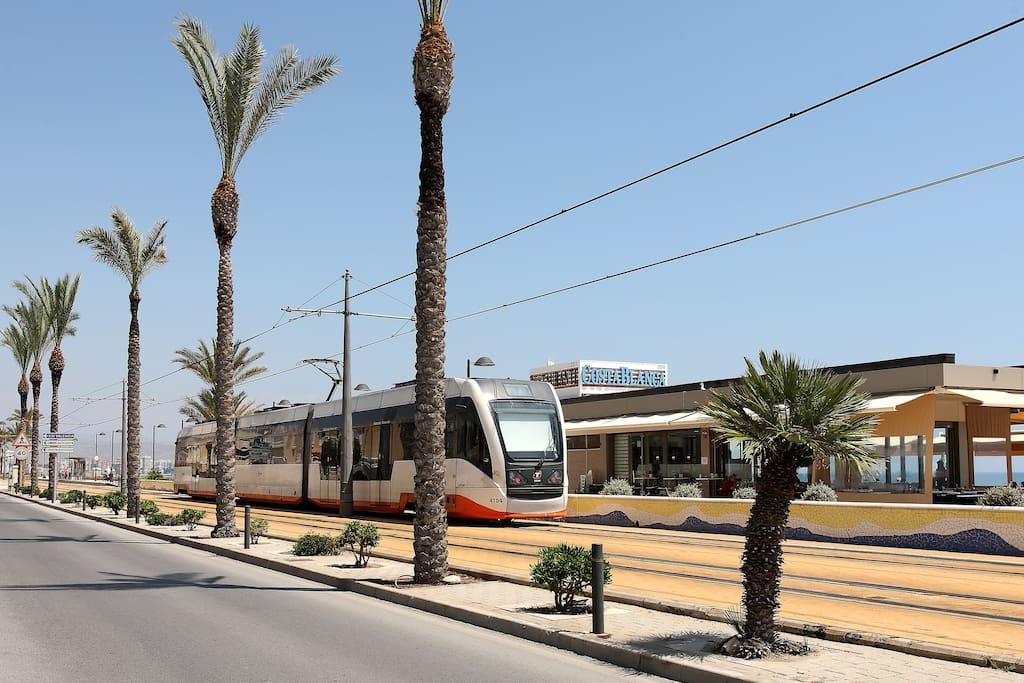 Transporte publico con Alicante
