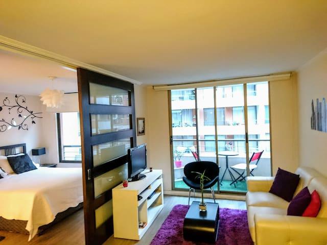 Lindo Depto cn excelente ubicación - Santiago - Apartamento