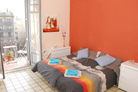 DOUBLE ROOM BY THE CATHEDRAL! - Barcelona - Apartment