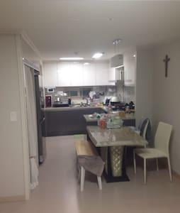 깨끗한 25평 새아파트 - 안성시 - Apartemen
