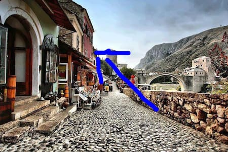 Studio overlooking the Old Bridge - Mostar - Apartment
