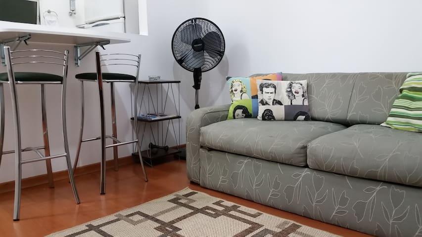 Apartamento aconchegante BEM no centro de SP - São Paulo - Huoneisto