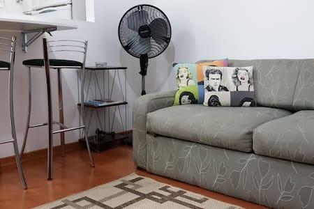 Apartamento aconchegante BEM no centro de SP - São Paulo - Apartmen