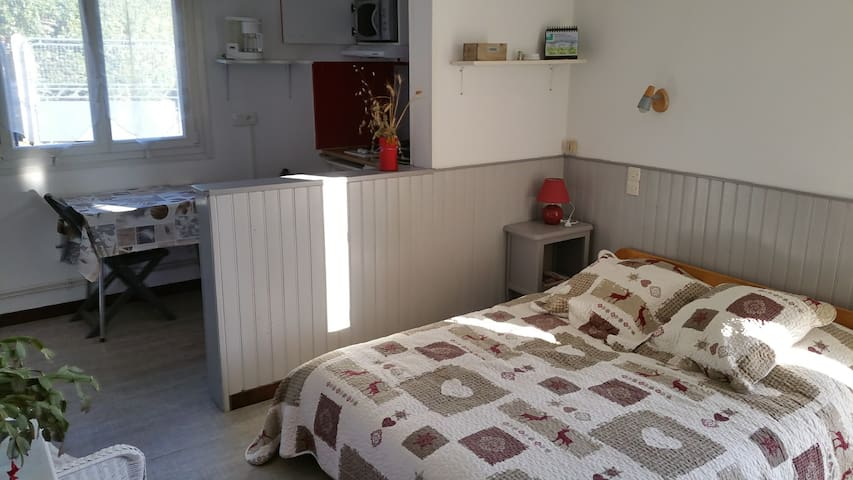 Studio entre Caen et la mer - Thaon - Appartement