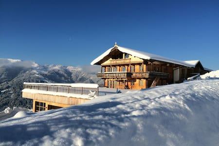 schihütte auf 1300 meter seehöhe - Oberau