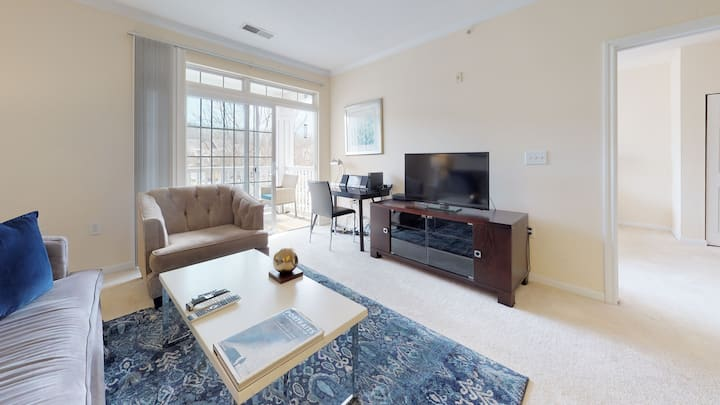 Beautiful Furnished One Bedroom Princeton NJ