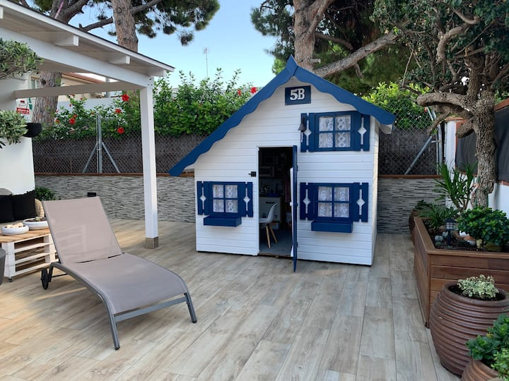 Lovely house near the beach.