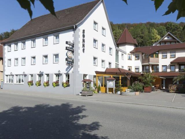 Hotel & Gasthaus Sonne, (Fridingen), Donauberglandzimmer mit Dusche und WC