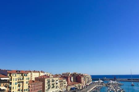 [SEA VIEWS] Charming studio overlooking Nice Port - Wohnung