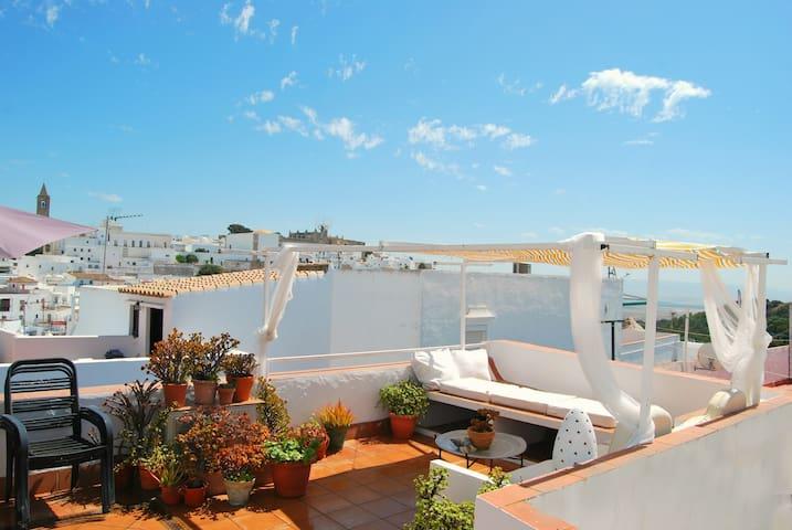 Precioso apartamento con terraza en Vejer centro