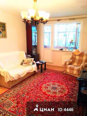 3-Room Apartment next to historic Tsarytsino park