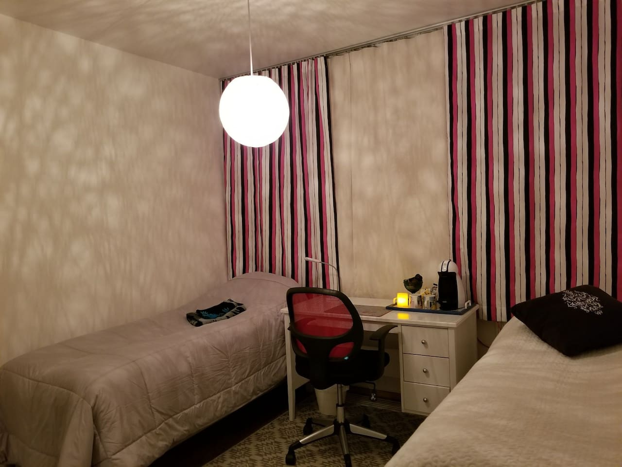 Bedroom at the heart of Rovaniemi