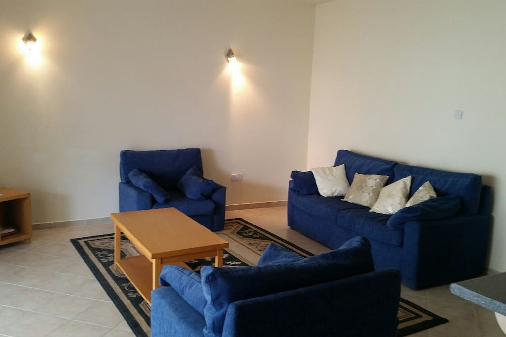 Large Living Space, Bed Settee