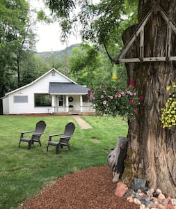 Entire cabin on serene historic property