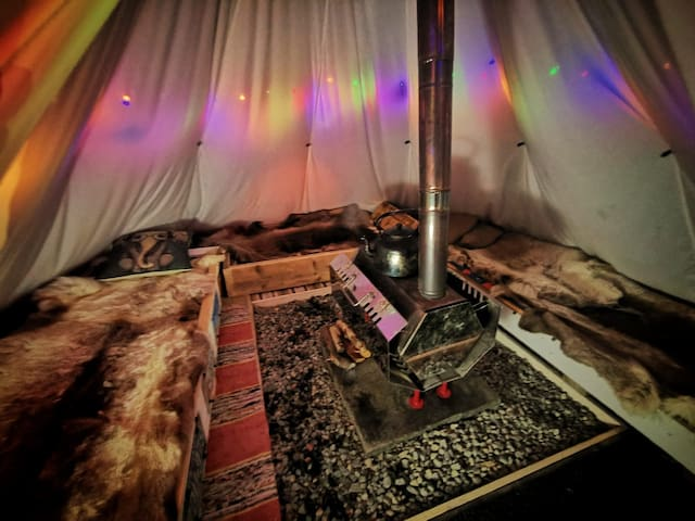 Traditional Tipi experience PLUS MUCH MORE!