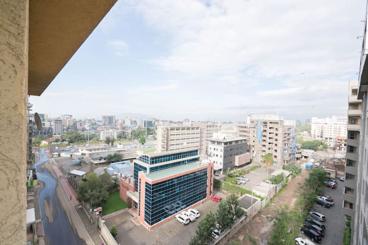Modern apartment in central Addis