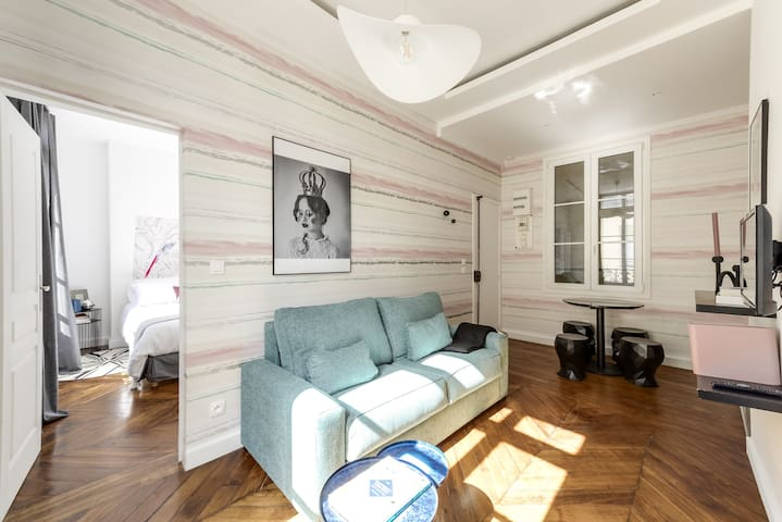 Charming new apartment near Louvre Museum