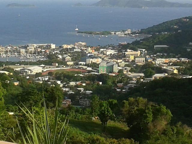 Majestic View of Road Town, Tortola