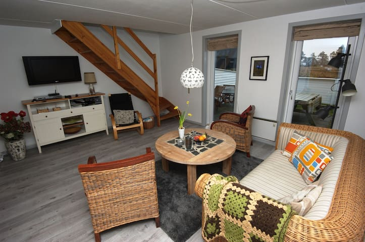 Nice holiday apartment on the island Rømø, Havneby