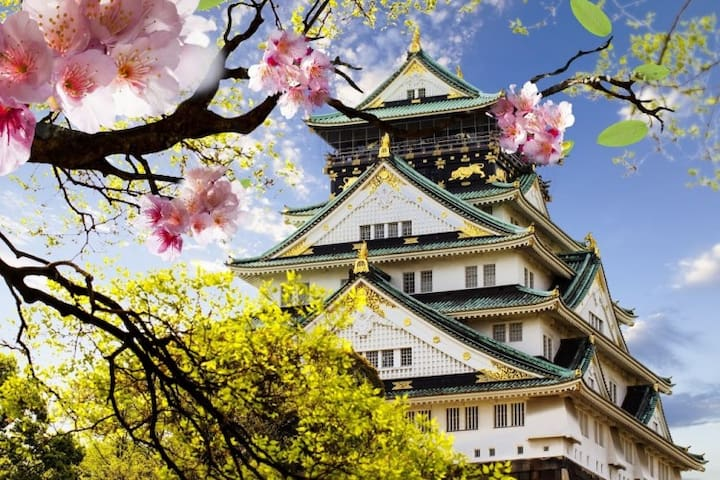 SALE!!★Cool Japan House/さくら旅館★Near 心斎橋・大阪城