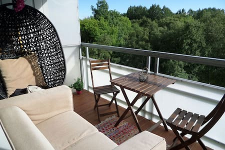 Nice appartment with amazing view - Trondheim - Apartemen