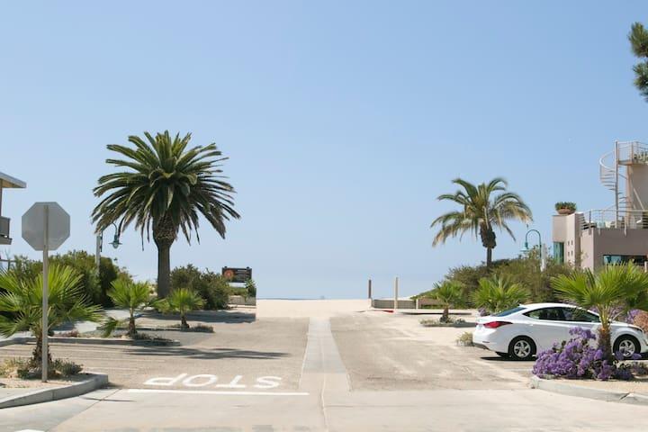 Steps for Carpinteria Beach with private patio -  this beach gem is a winner!