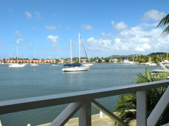 Luxury Townhouse on the Rodney Bay Marina - Rodney Bay