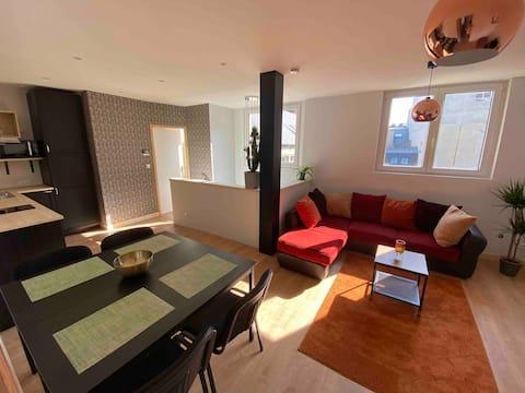 Appartement hypercentre avec terrasse
