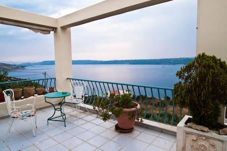 Armonia, Breathtaking Sea View Apt- Αptera Chania - Kalami - Apartemen