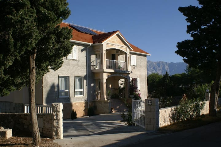 One bedroom apartment with air-conditioning Sumartin, Brač (A-757-a)