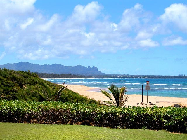 Beachfront-2BR Deluxe Oceanview-Kauai Beach Villas - 利胡埃(Lihue)
