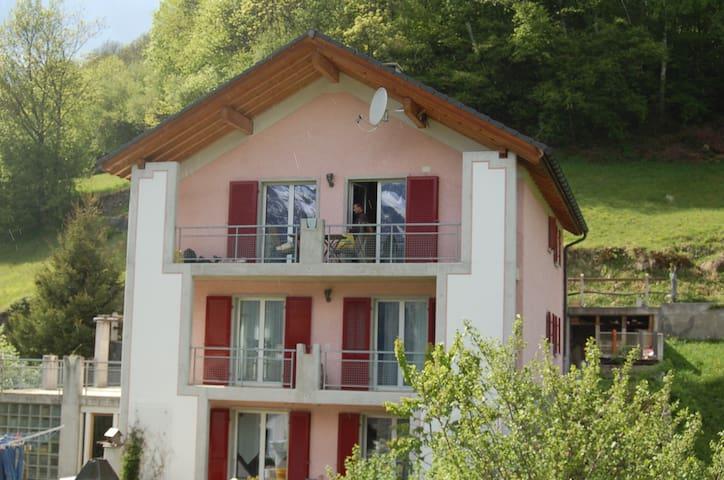 Wanderferien im Val Calanca - Bündner Südtäler - Santa Maria in Calanca