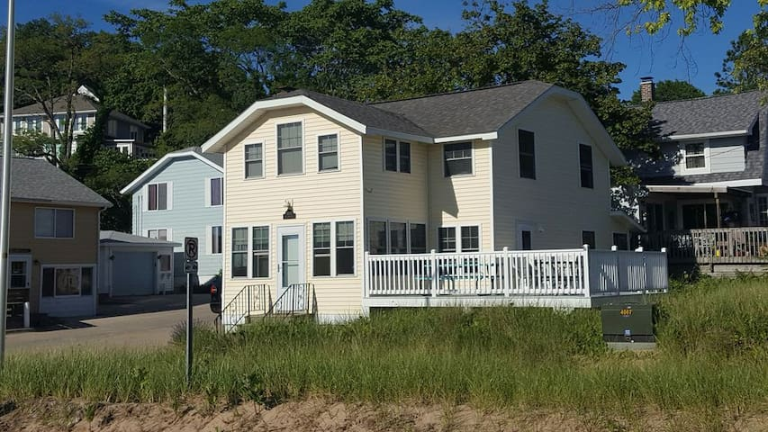 Directly Across from Grand Haven State Park/Beach