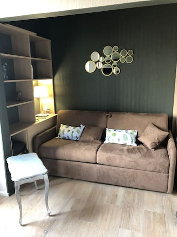 """Studio aménagé et équipé """"cosy»"""