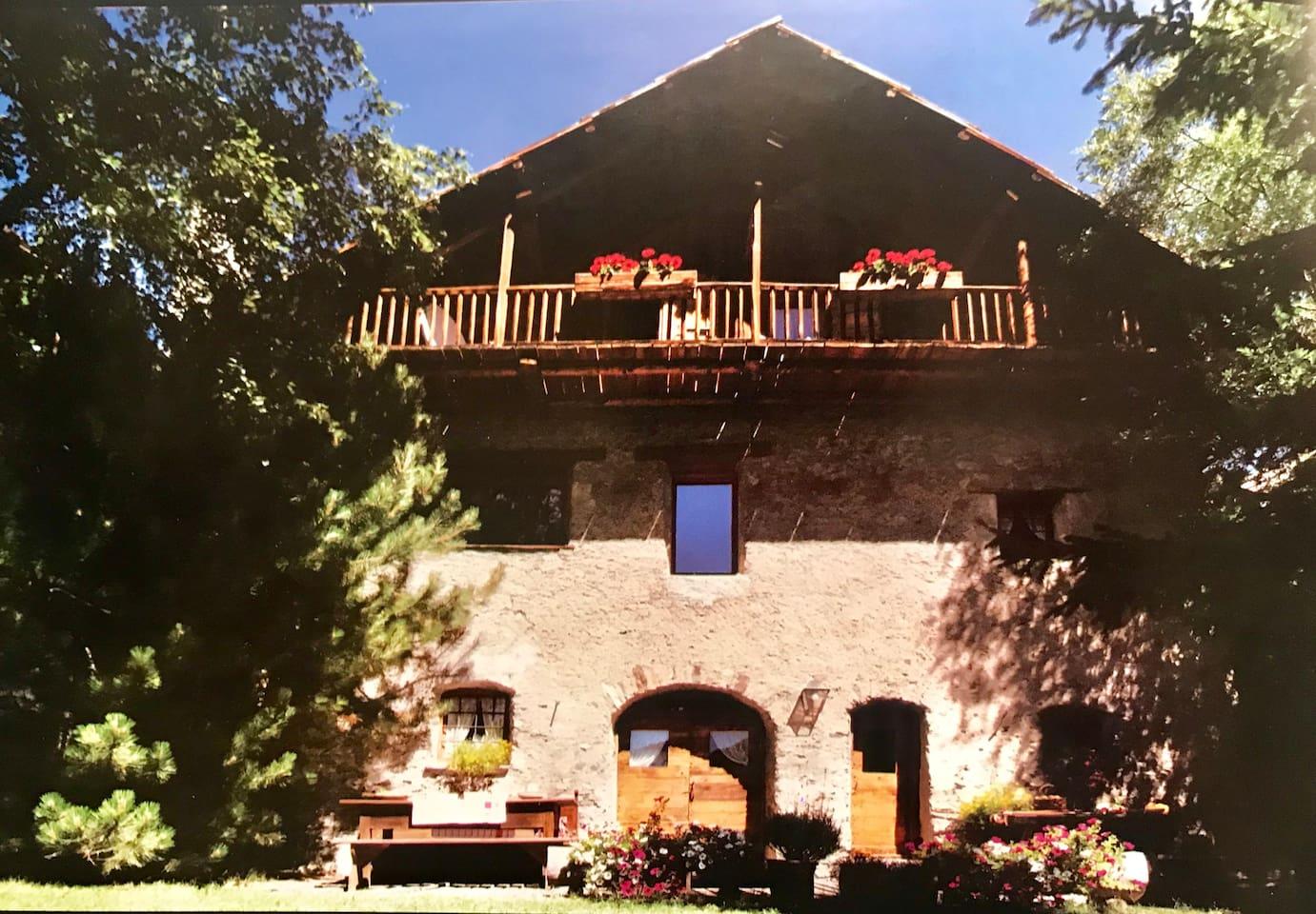 Front side of La Grangia