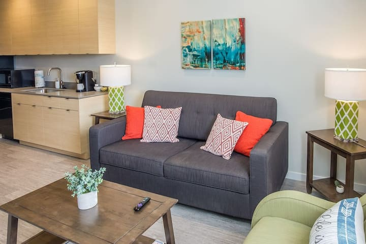 Comfortable and Modern Studio in Des Moines