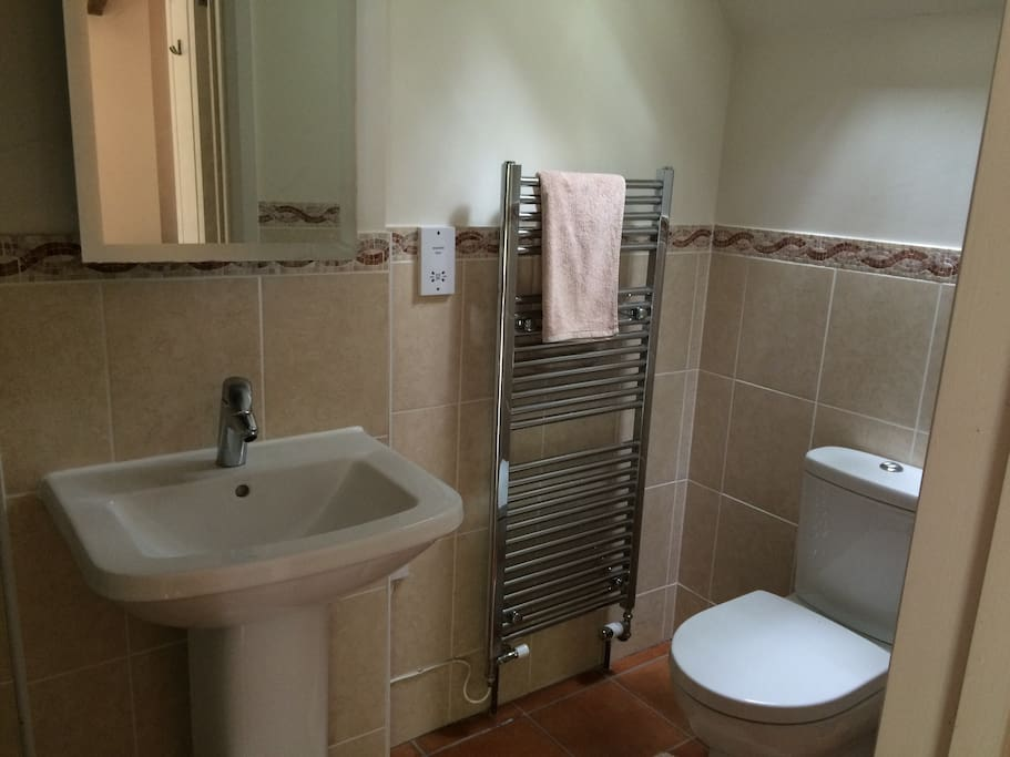 Bedroom 1 ensuite with shower