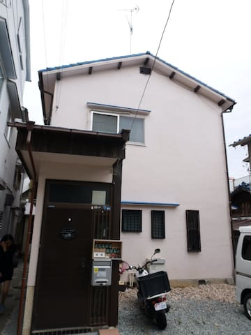 Kamitsutsui House,KOBE CHUO Ward near Oji Zoo.B