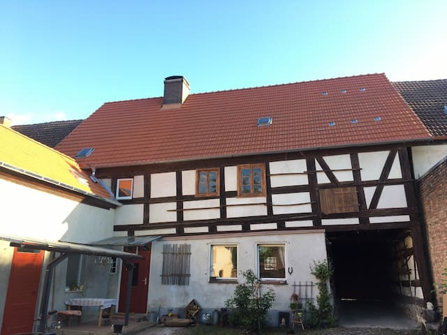 Gemütliches Zimmer auf einem alten Gutshof