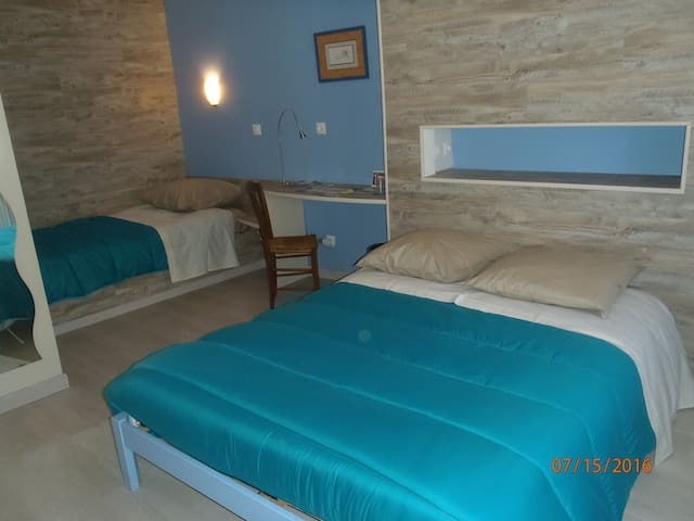 Amboise centre Chambre Bleue - Amboise - Bed & Breakfast