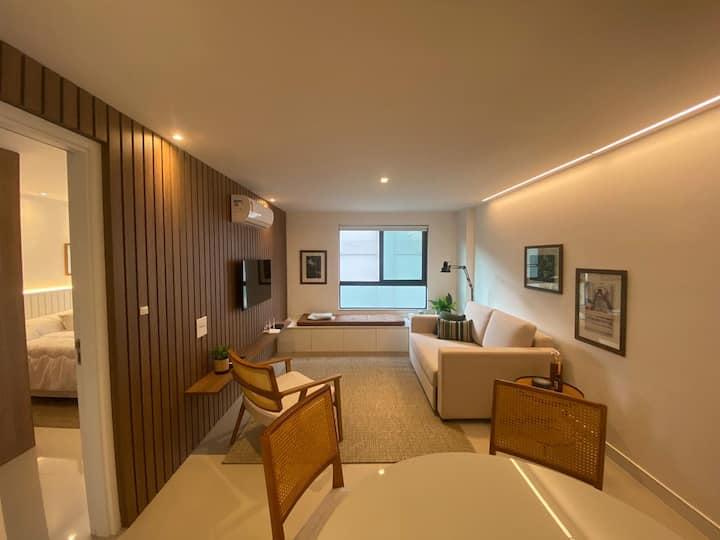 Apartamento Confortável Itaipava 🍹201