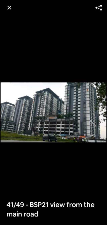 Seluruh apartmen BSP21 dgn pelbagai ke kemudahan