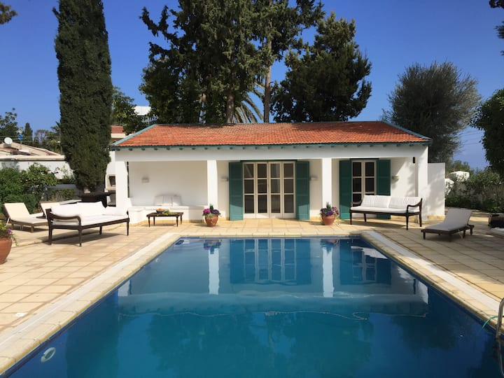 Beautiful Pool House in characterful village.
